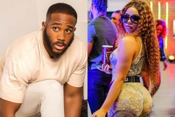 BBNaija: Furious Kiddwaya Unfollows Nengi On Instagram After She Labelled Him A Dirty Boy