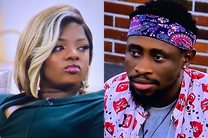 "BBNaija: ""You Are A Two-Sided B!tch A$$"" – Dorathy Slams Triky Tee (Video)"