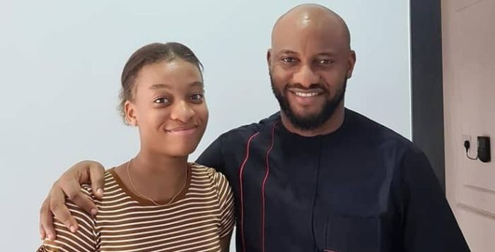 """Don't Pay Yet, She Is Just 15, Not An Adult"" – Yul Edochie Tells Man Who Proposed Marriage To His Daughter (Photo)"