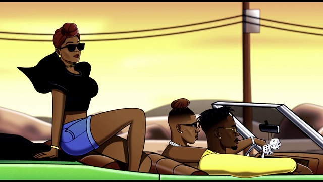 Krizbeatz ft. Mr Eazi, Vanessa Mdee – Pamela (Visualizer)