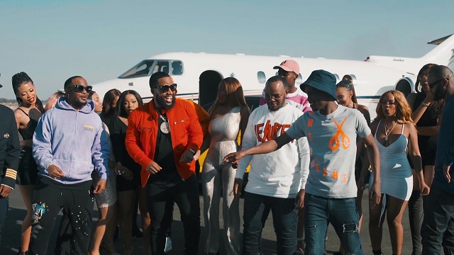 Major League & Abidoza – Le Plane E'Landile ft. Cassper Nyovest, Kammu Dee, Ma Lemon (Official Video)
