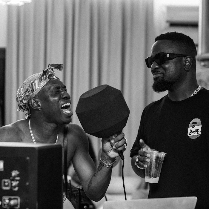 NAIJA X GHANA – Rapper Zlatan And Sarkodie Working On A Collaboration In Ghana (Photos)