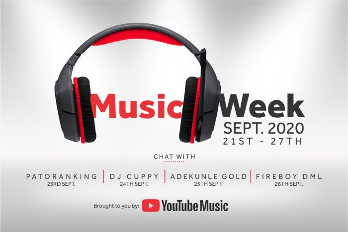 Patoranking, DJ Cuppy, Adekunle Gold & Fireboy DML Hangout With Fans To Celebrate Youtube Music Week