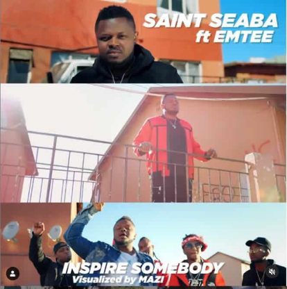 Saint Seaba – Inspire Somebody Ft. Emtee (Official Video)