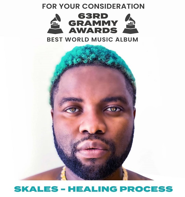 "Skales Latest EP ""Healing Process"" To Be Considered For Grammy Nomination"