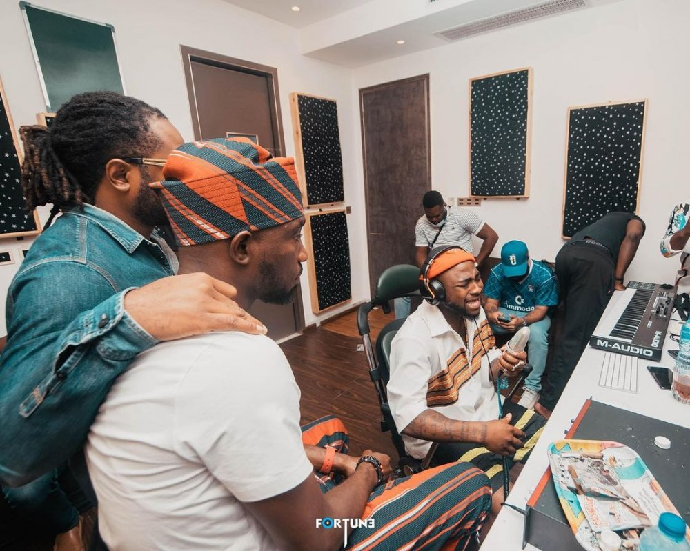 Timi Dakolo, Davido and Cobhams Asuquo set to drop a new song