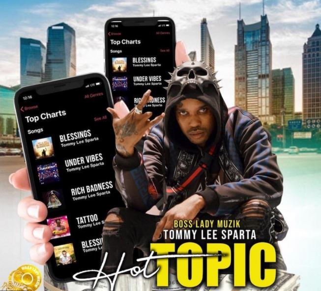 Tommy Lee Sparta – Hot Topic