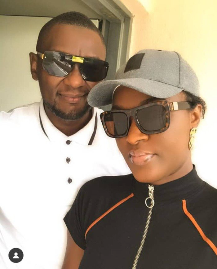"True True, Chacha No Well""- Fans React After Chacha Eke Faani Shares A Video Of Herself And Her Husband Kissing"
