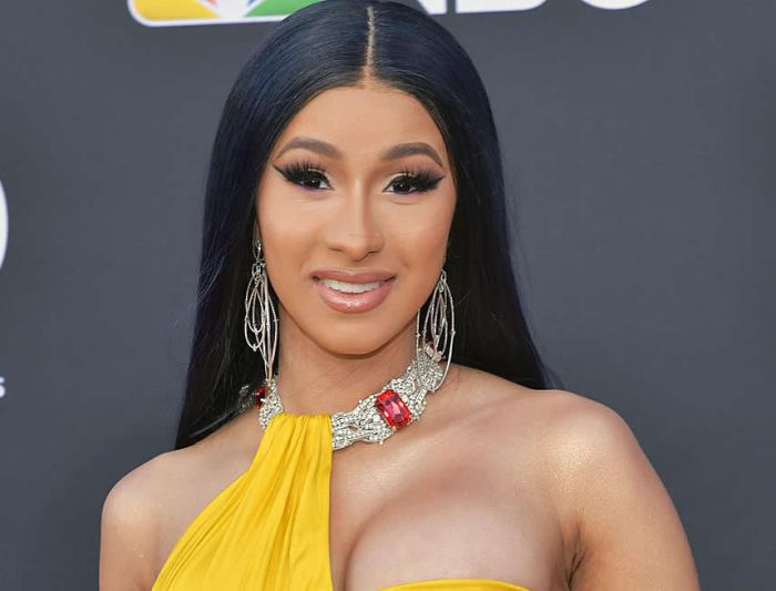 """What's Going On?"" – Cardi B Reacts After She Was Alerted About EndSARS Protest"