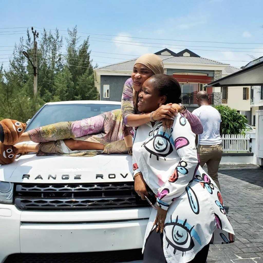 Wonderful! Iyabo Ojo Gets Surprise Car Gift From Goddaughter